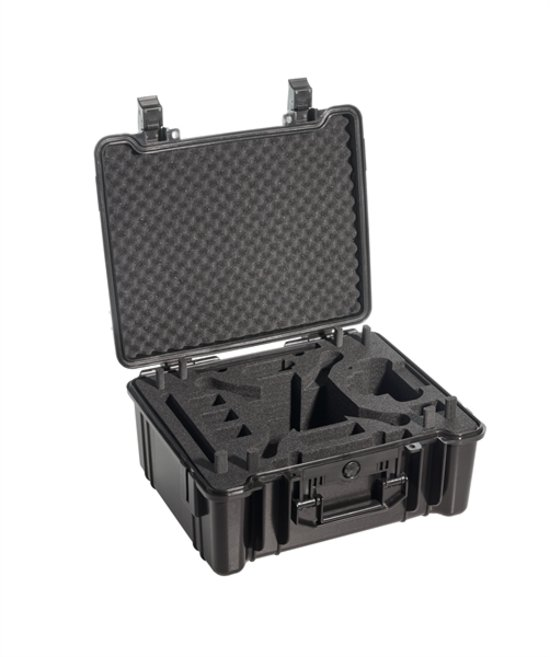 B&W outdoor.cases Copter.case Type 61 zwart + Hardfoam DJI Phantom 3