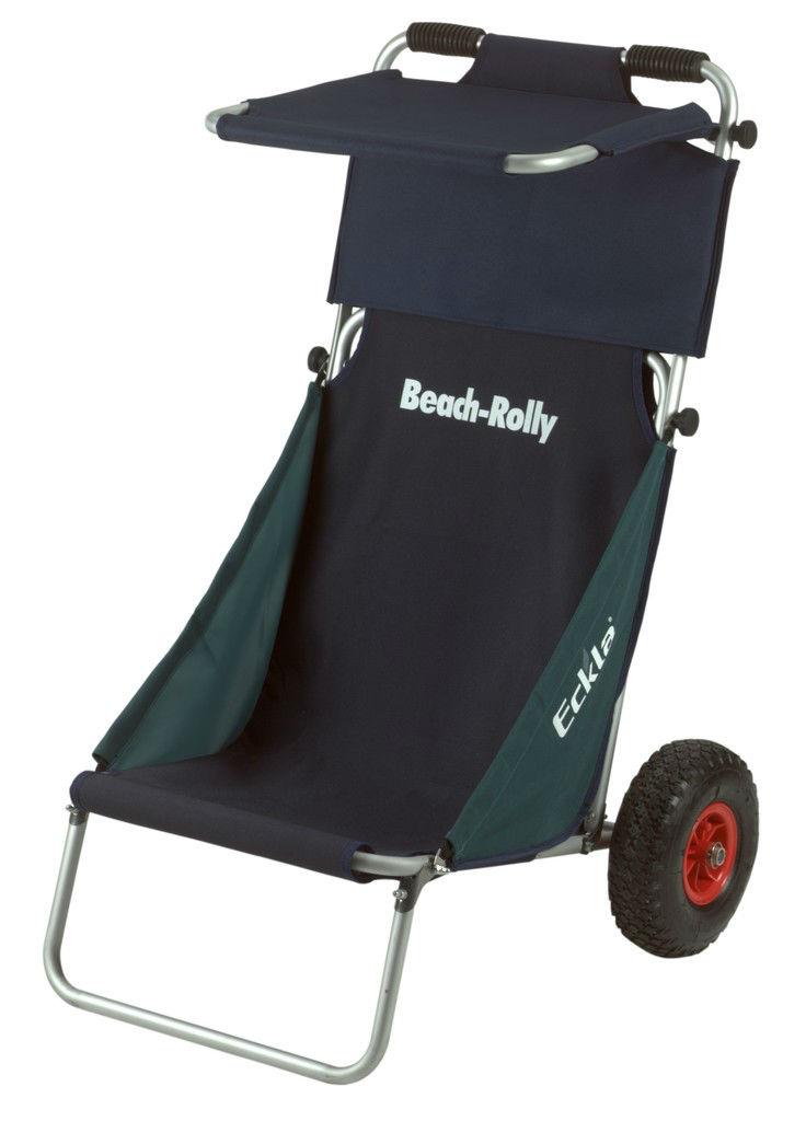 Eckla Beach-Rolly blauw-groen + Sunroof + Lek-Proof Banden