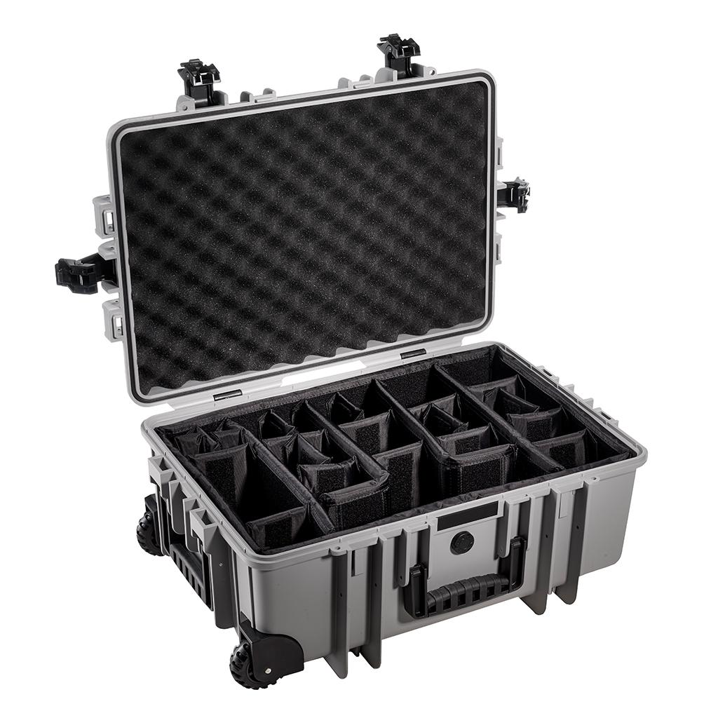 B&W Outdoor.cases Type 6700 grijs + verdeler