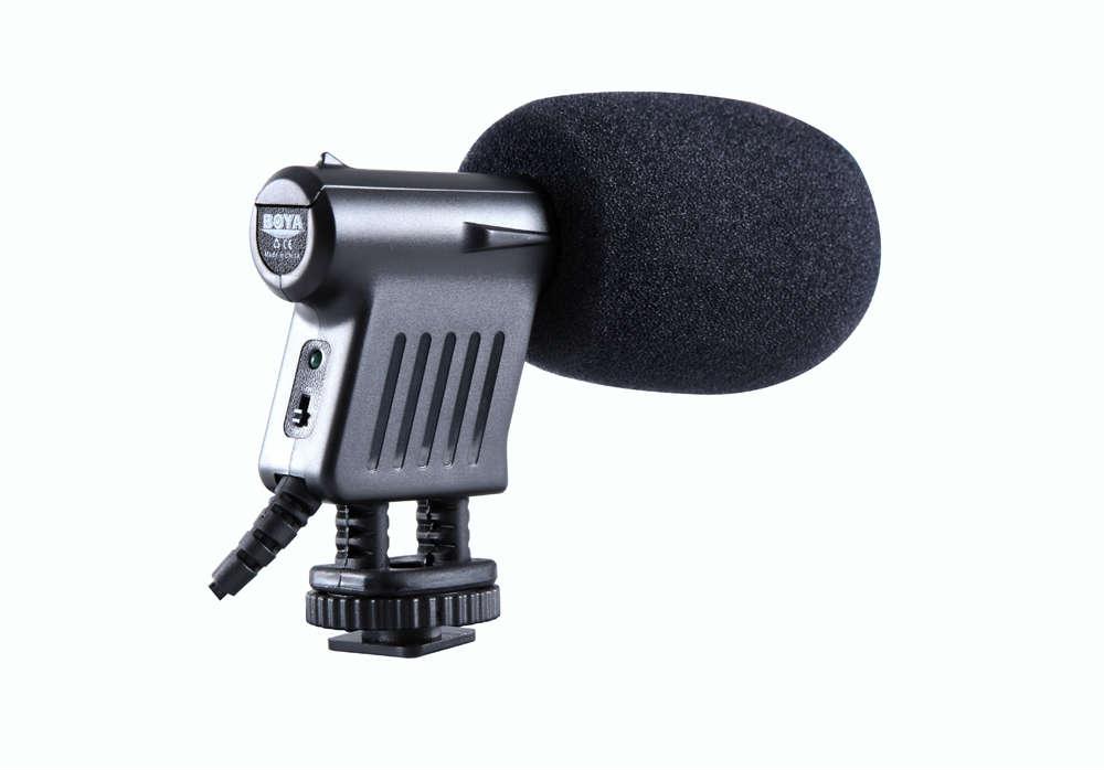 Boya Stereo Video Condensator Microfoon BY-VM01