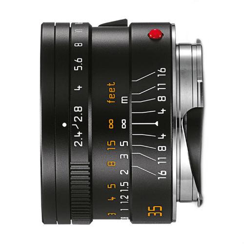 Leica 11671 M 35mm F/2.4 Summarit zwart