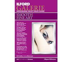 Ilford 1995372, A4 x10vel / 190gr. Smooth Fine Art Paper