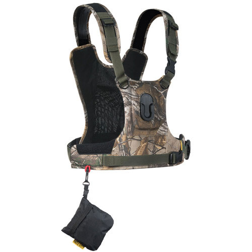 Cotton Carrier Camera Vest G3 voor 1 camera Realtree Xtra Camouflage