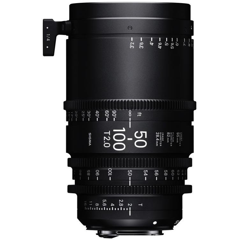 Sigma 50-100mm T2 F/VE Cine High Speed Zoom Line Sony-E Metric