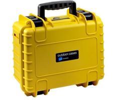 B&W outdoor.cases type 2000 geel leeg