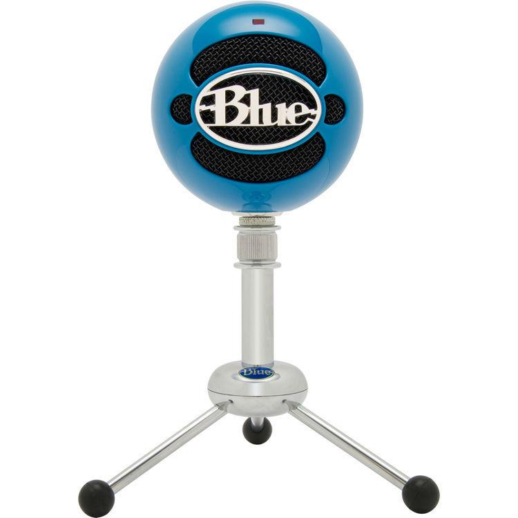 Blue Microphones Snowball USB Microphone (Neon Blue)