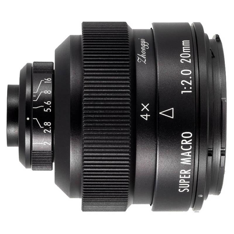 Zhongyi Mitakon 20mm F/2.0 4.5X Super Macro Canon