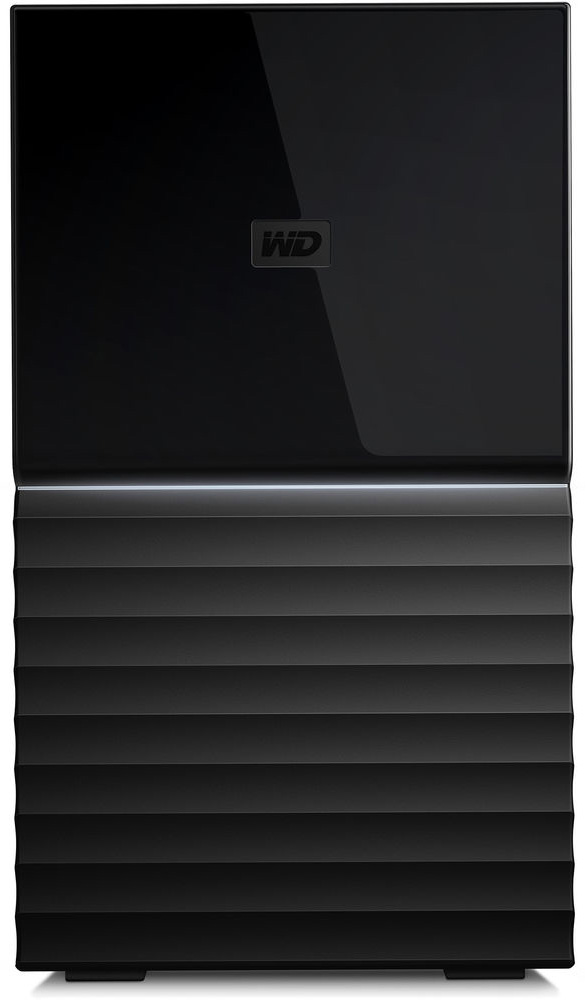 Western Digital My Book Duo 16TB RAID Storage Dual-Drive RAID 0/1 JB0D USB3.1 RTL