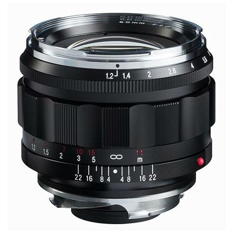 Voigtlander Nokton 50mm F/1.2 ASPH zwart VM (Leica M-bajonett)