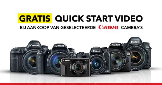 10789723227 Gratis Canon Quick Start videohandleiding
