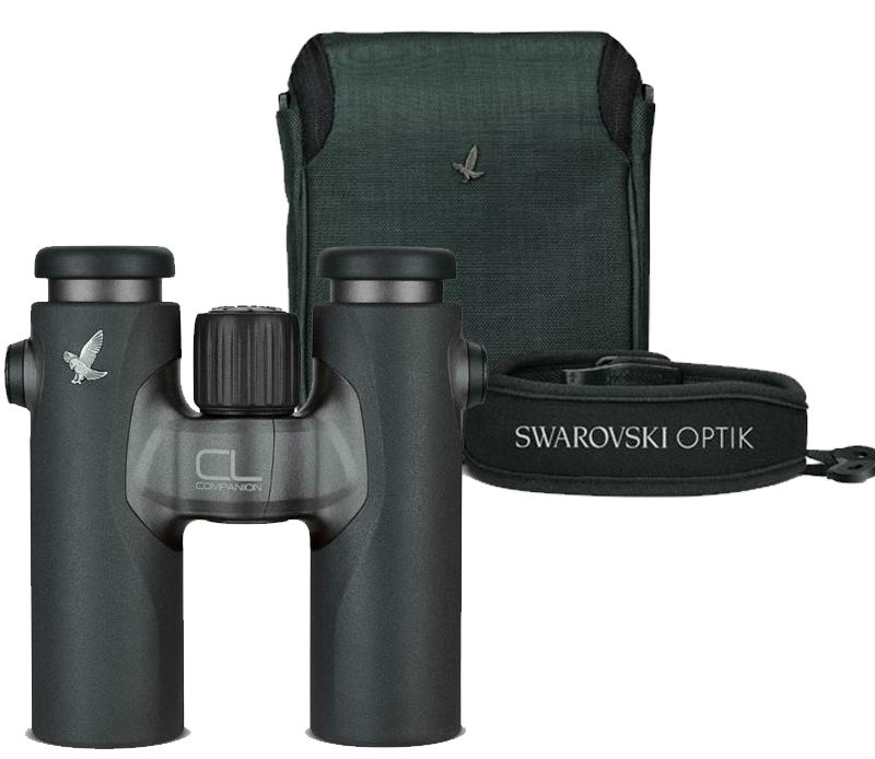 Swarovski CL Companion 8x30 Antraciet + Wild Nature pakket
