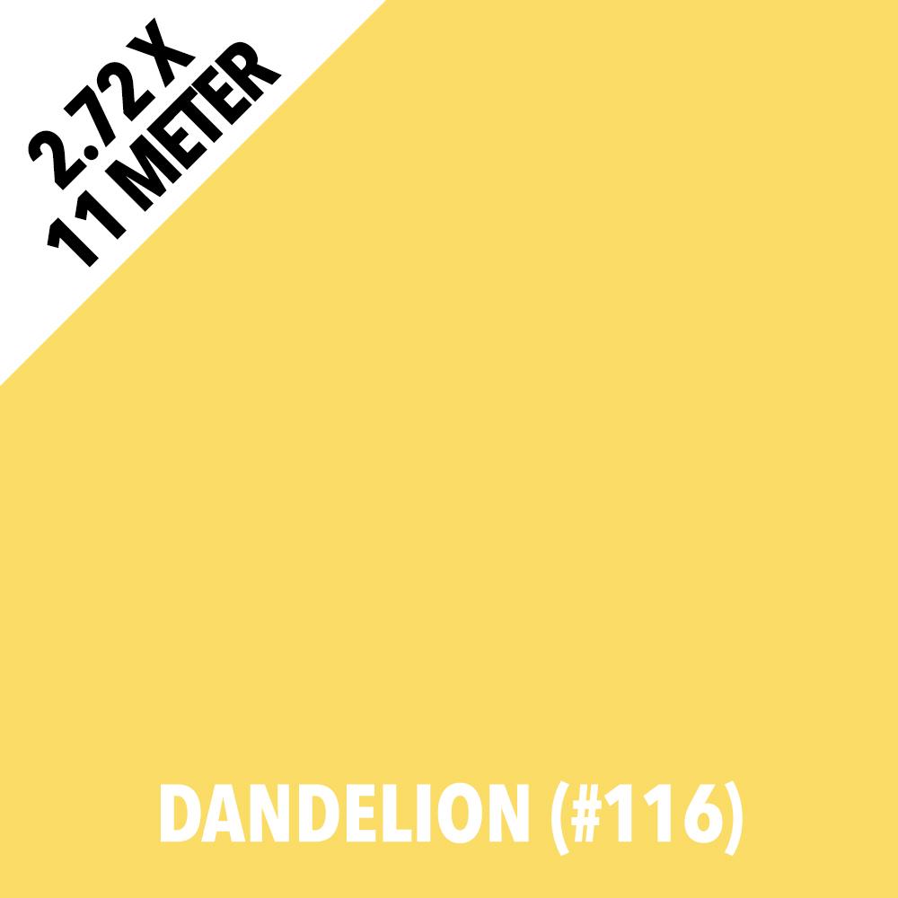 Afbeelding van Colorama 116 Dandelion 2,72x11m