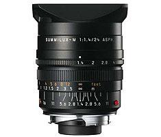 Leica 11601 M 24mm F/1.4 Summilux ASPH zwart Finish 11601