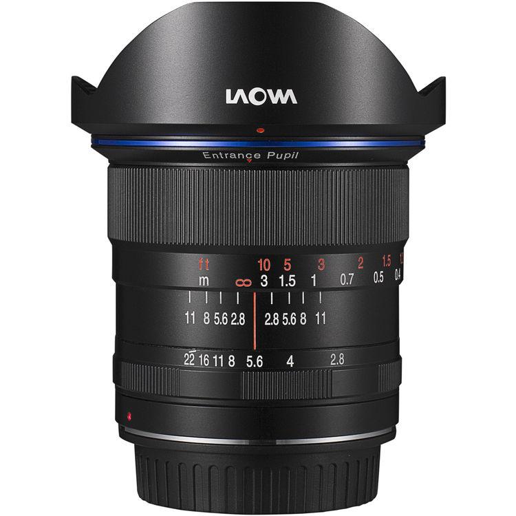 Venus Optics LAOWA 12mm F/2.8 Zero-D voor Canon EF, EF-S