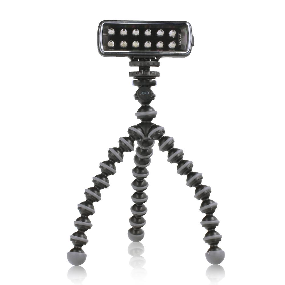 Manfrotto Pocket LED Light ML120 + Joby GorillaPod Original Black-Charcoal