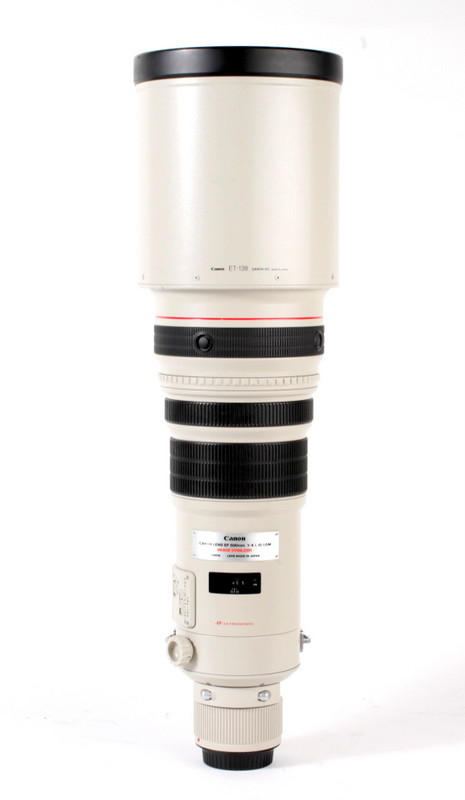 Canon EF 500mm F/4.0 L USM IS occasion