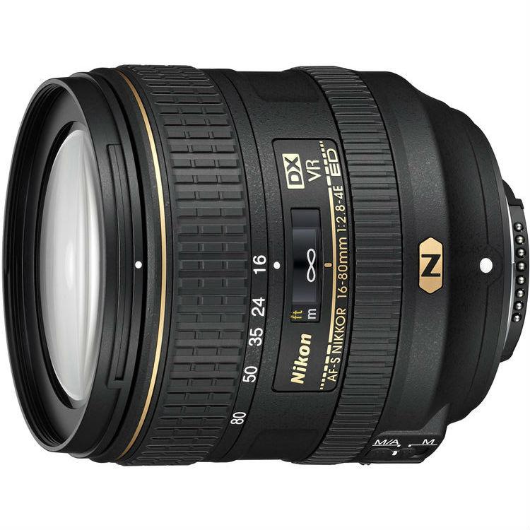 Nikon AF-S 16-80mm F/2.8-4.0E VR ED