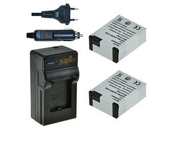 Jupio GoPro Kit 2x Battery AHDBT-302 + Charger