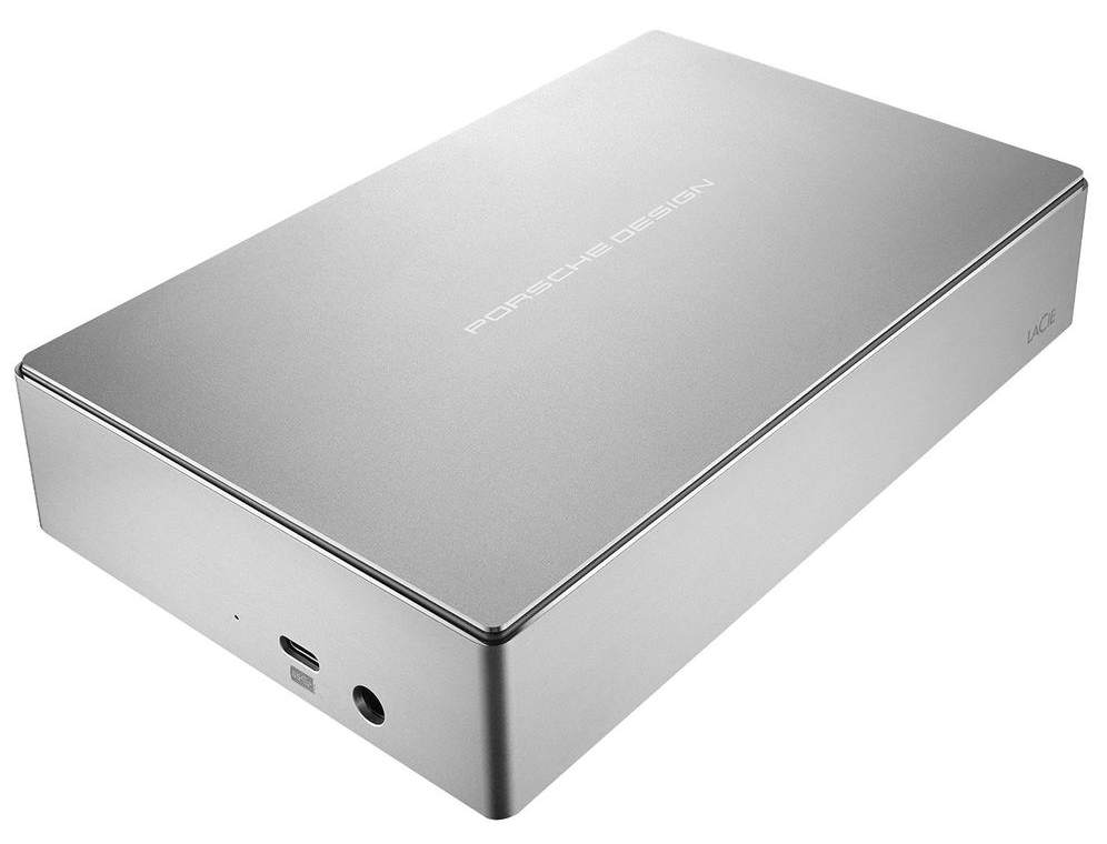 LaCie 4TB Porsche Design 3.5 USB-C silver