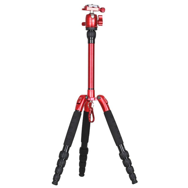 Sirui T-005SK Ultralight + B-00R balhoofd rood