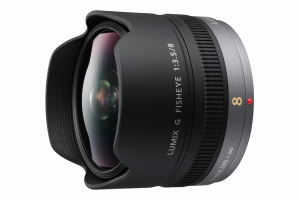 Panasonic MFT 8mm F/3.5 fish-eye ED (micro-fourthird, eqv. 16mm)