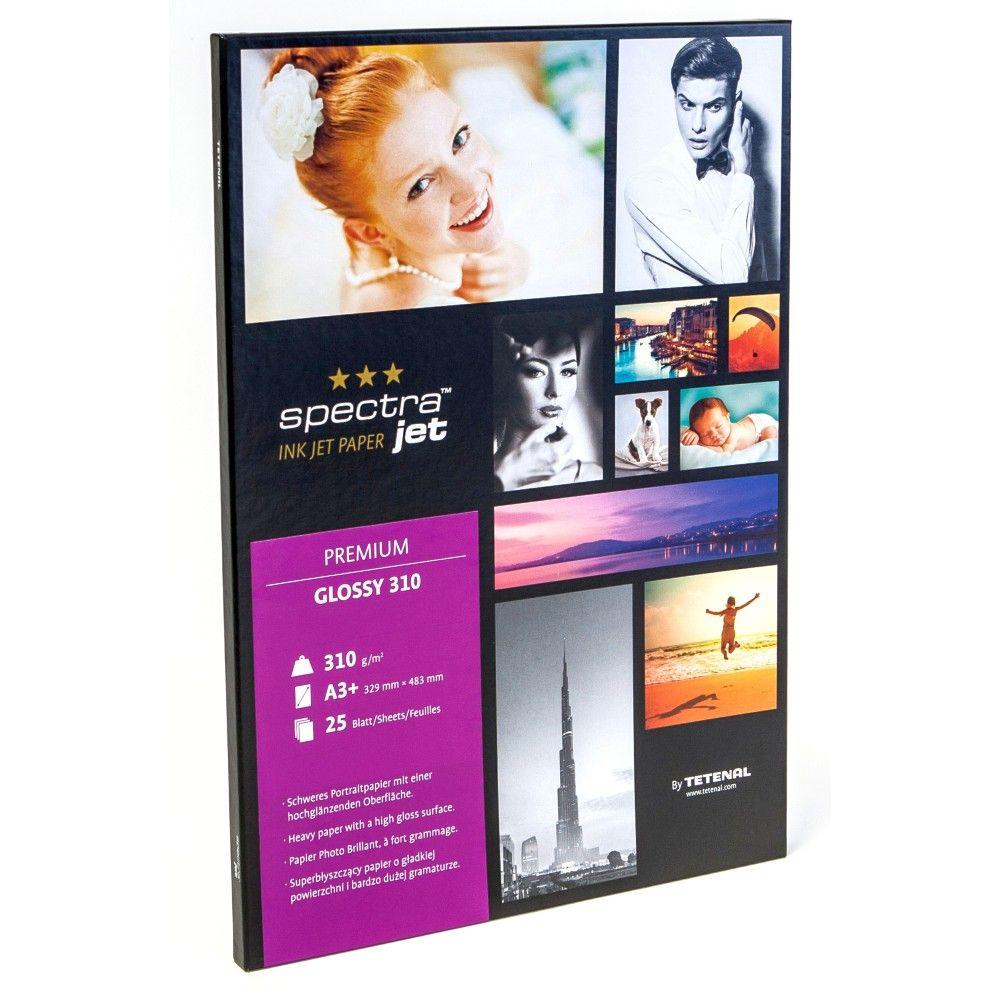 Tetenal Premium Glossy Inkjet 310 gr A3+ 25 vel
