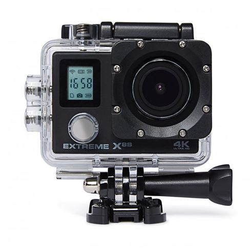 VIZU Extreme X8S Wi-Fi 4K Action Camera incl. Afstandsbediening OUTLET
