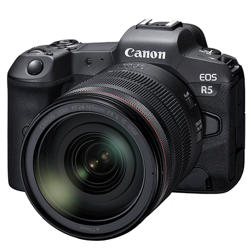 Canon EOS R5 side2