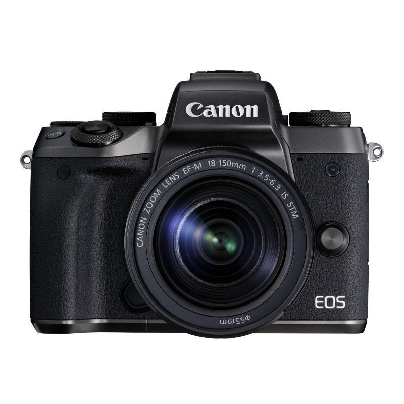 Canon EOS M5 + 18-150mm IS STM zwart
