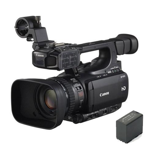 Canon XF100 + BP 975 accu