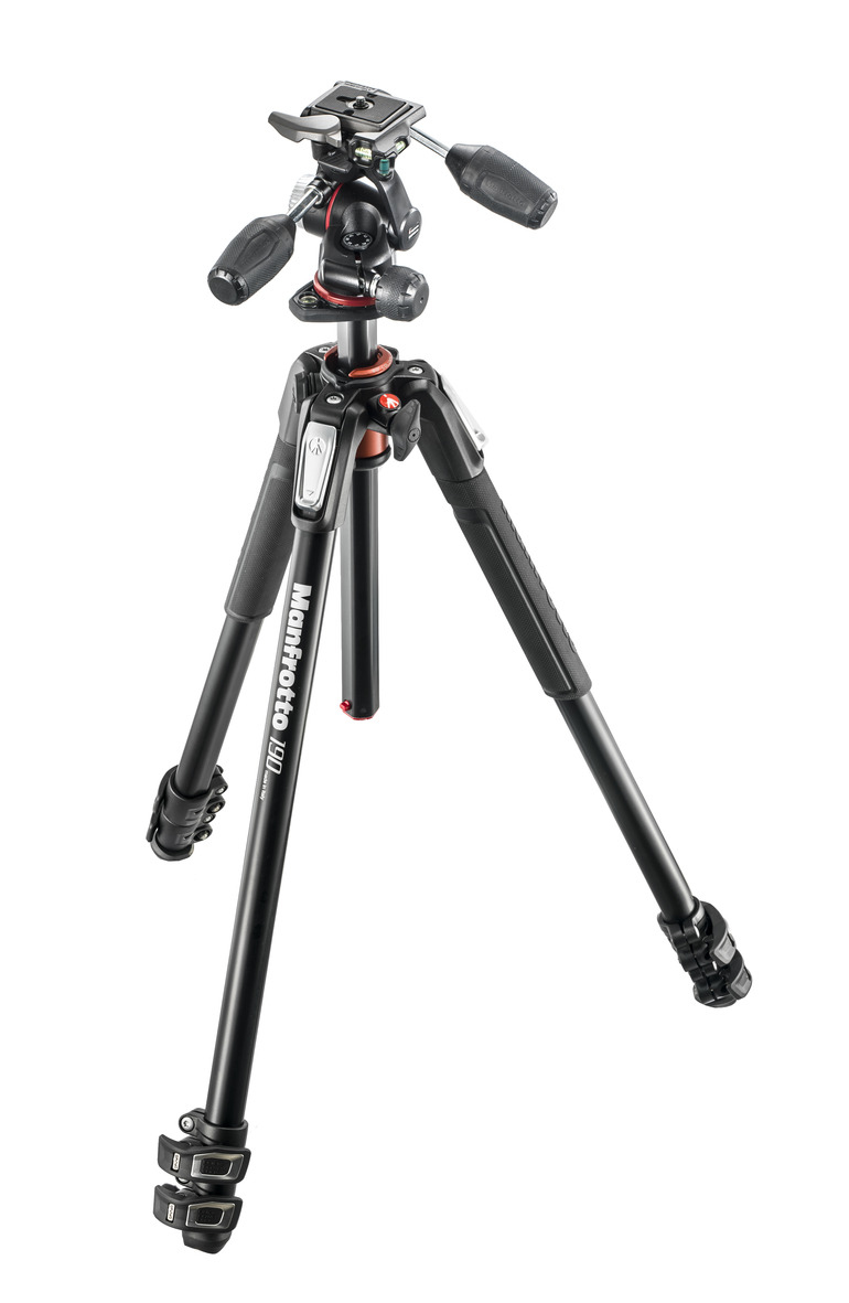 Manfrotto MK190XPRO3-3W Alu Kit 3-S