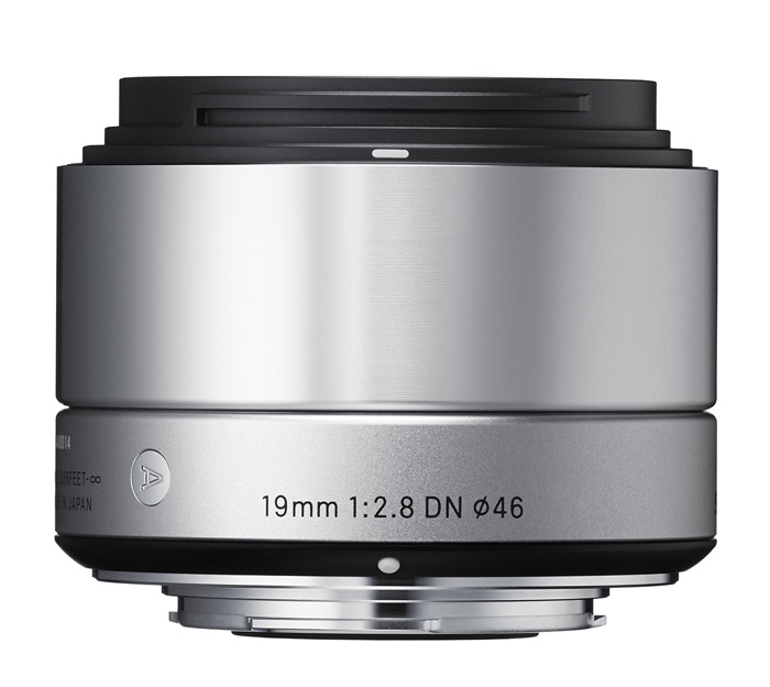Sigma 19mm f-2.8 DN Art Micro Four Thirds Zilver