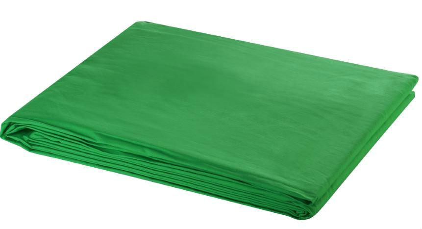 Bresser Y-9 Uitwasbaar Achtergrond Doek 3x4m Chromakey Groen