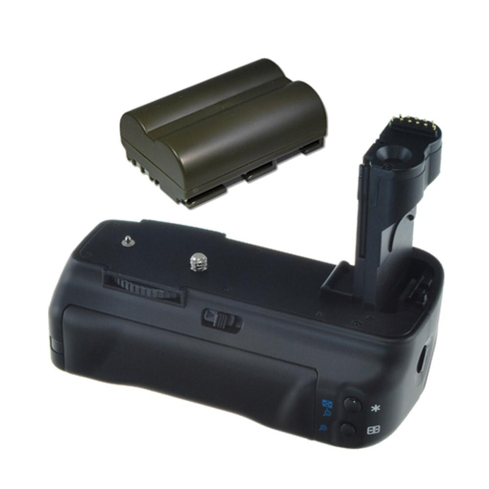 Jupio Battery Grip for Canon 20D/30D/40D/50D + Jupio BP-511/511A/512