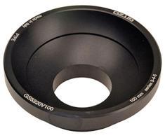 Gitzo GS5321V100 Adapter Videokop 100mm