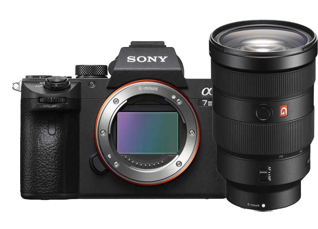 Sony A7 mark III + 24-70mm F/2.8 GM