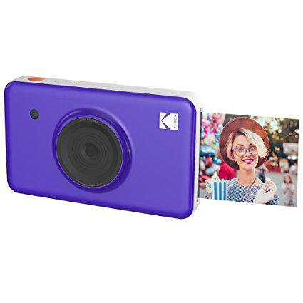 Kodak Minishot instant camera purple