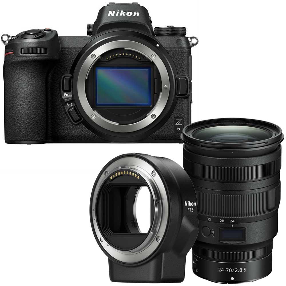 Nikon Z6 + Nikon Z 24-70mm F/2.8 S-line + FTZ adapter