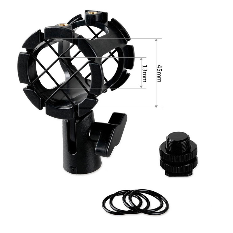 SmallRig 1859 Universal Microphone Shock Mount Adapter