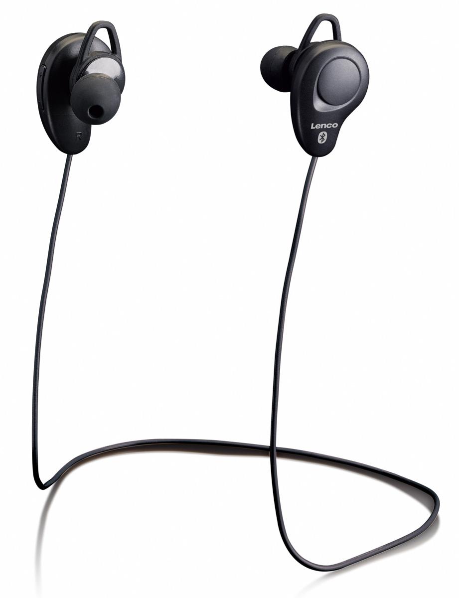 Lenco EPB-015 Bluetooth hoofdtelefoon Black