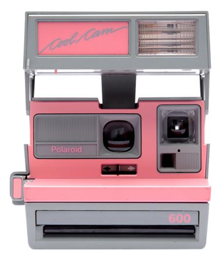 Impossible Refurbished 600 Pink/Grey Camera