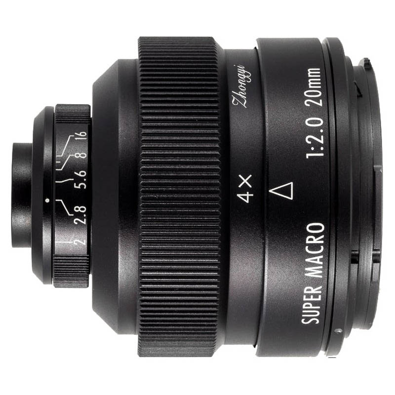 Zhongyi Mitakon 20mm F/2.0 4.5X Super Macro Sony A