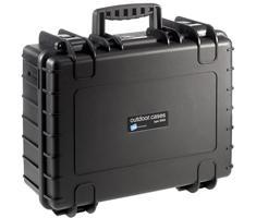 B&W outdoor.cases type 5000 zwart + plukschuim