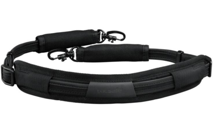Pacsafe Carrysafe 100 camera draagriem zwart