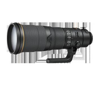 Nikon AF-S 500mm F/4.0E FL ED VR + HK-34 (zonnekap)