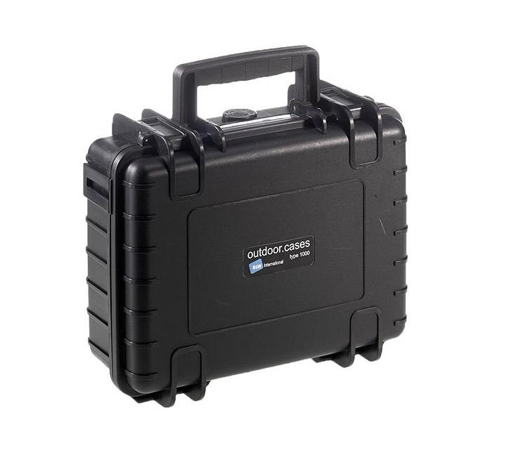 B&W outdoor.cases type 1000 zwart + DJI Osmo X3/DJI Osmo+ inlay