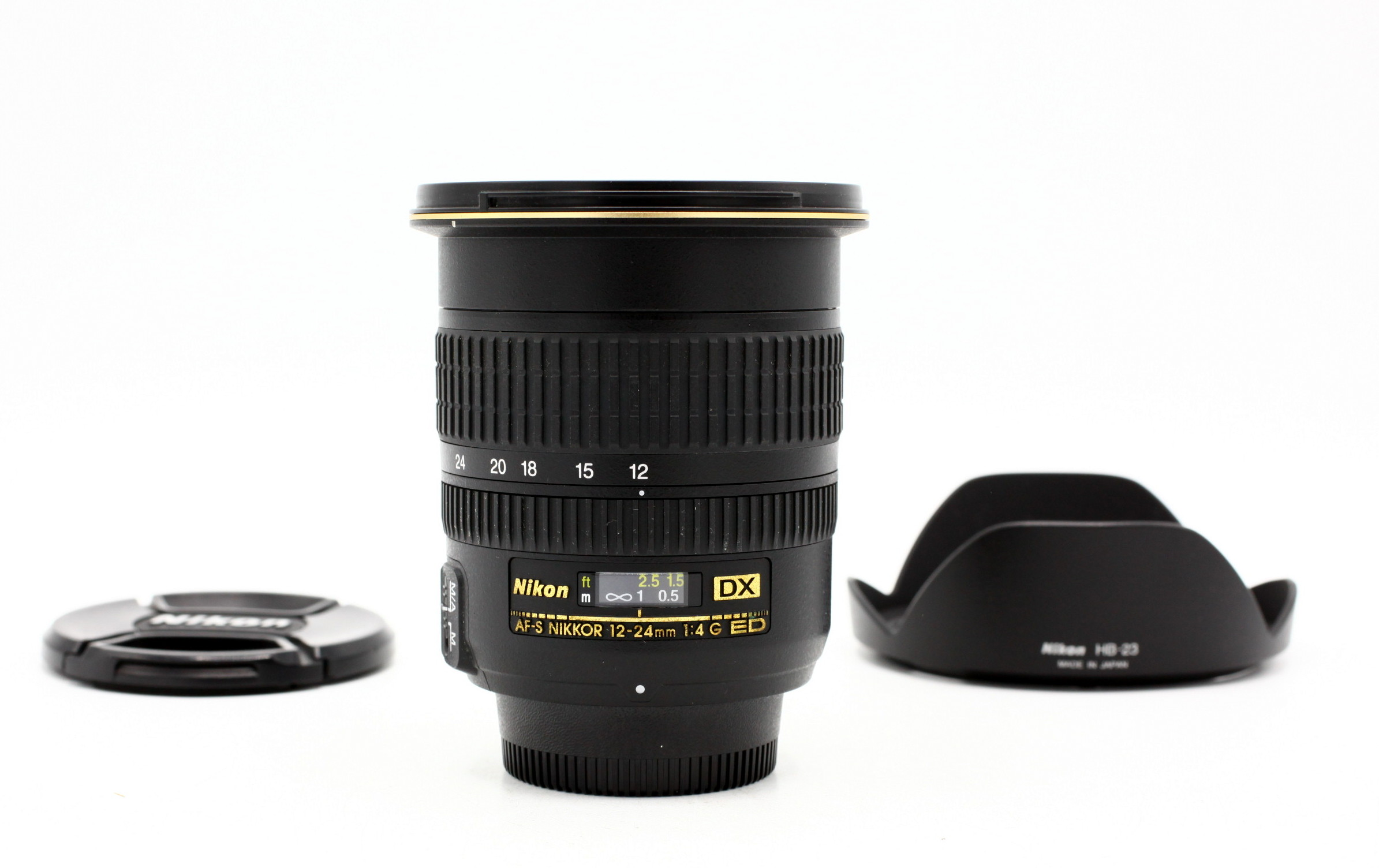 Nikon AF-S 12-24mm F/4.0 G DX IF ED occasion