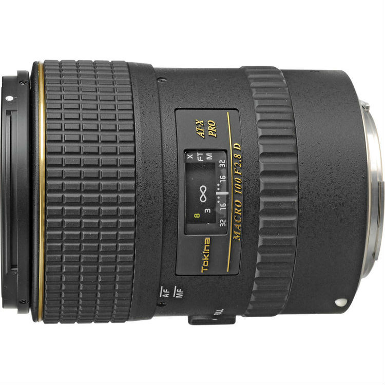 Tokina 100mm F/2.8 AT-X macro 1:1 Canon EF/EF-S