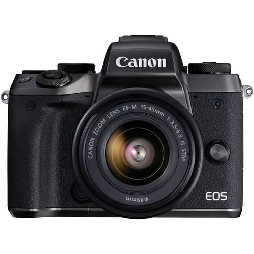 Canon EOS M5 + 15-45mm IS STM zwart