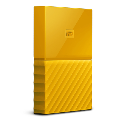 Western Digital My Passport Extern 1TB HDD Yellow